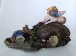 Baby Fairy on a Rock