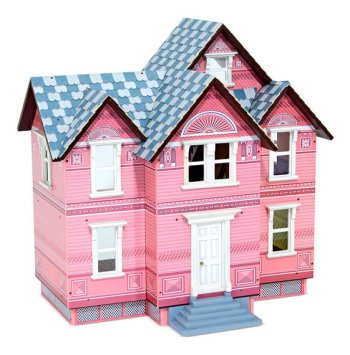 Victorian Dollhouse Dollhouse Kit
