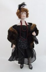 1920's Lady with Fox Stole