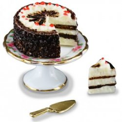 Black Forest Cake w/ Stand