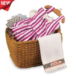 Clothes Basket with Clothes