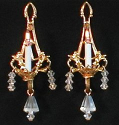 Alexandra Sconces, Pair