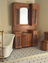 Italia Bathroom Set, Cherry