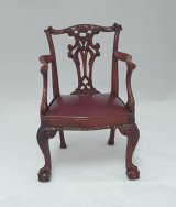 Chippendale Ball & Claw Arm Chair