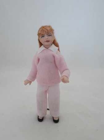 Modern Young Girl Doll