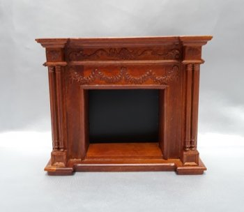 Fireplace, New Walnut