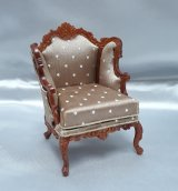 Louis XV Parlour Chair, Tan, WN