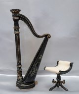 Harp & Stool, Chinoisere