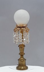Parlour Lamp w/ Crystals
