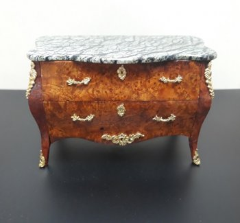 Bombe Chest w/ Marble Top