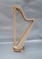 Palais Carved Harp, Unfinished