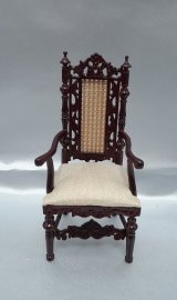 Dining Arm Chair, Cane Back, MH