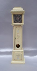 Sunshine Grandfather Clock, Handpainted