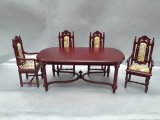 Charles II Dining Room Set, 5pc, MH