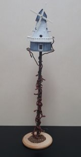 Wind Mill Bird House
