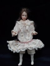 "Vintage 3/4"" Scale Doll"