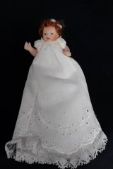 Red Hair Baby in Gown