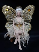 Lady Fairy, Cream and Gold