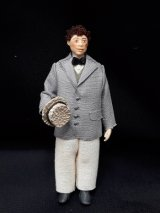 "1/2"" Male Doll with Hat"