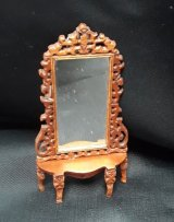 "1/2"" Hall Etagere, Handcarved"
