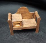 "1/2"" Telephone Chair, Walnut"