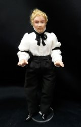Man Doll, White Shirt/Arm Band