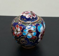 Cloisonne Chinese Ginger Jar