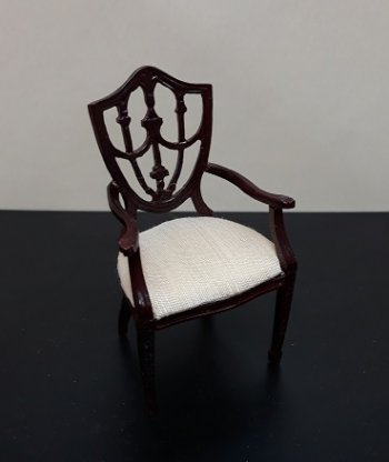 Shield Back Chair, MH