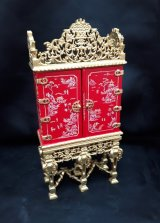 Armoire, Red Chinoisere