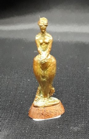Colleen Brass Statue