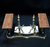 English Fireplace Fender/Andirons