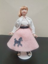 Teen Girl with Poodle skirt