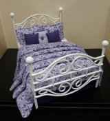 Double Bed Dressed, Amethyst Falls