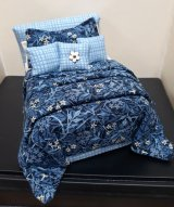 Double Bed Dressed, Blue Ridge