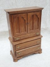 Chest of Drawers, Golden Oak