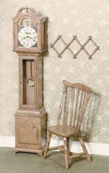 Grandfather Clock Kit, Brown