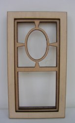 Prairie Oval Single Window