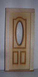 Oval Cutout Door