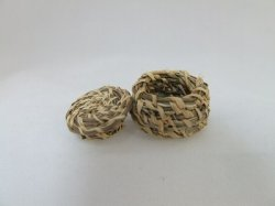 Lidded Sweet Grass Basket, Native