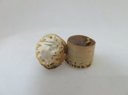 Lidded Basket, Vintage 1990, Birch Bark