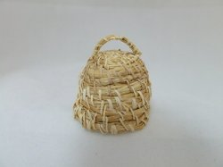 Bee Keeper Basket, Rye Straw