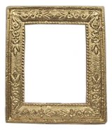 Small Rectangle Frame, Gold