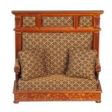Jacobean Hall Couch, Walnut