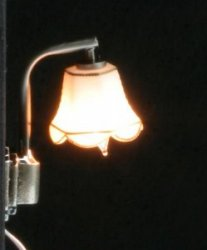 Modern Wall Lamp with Tulip Shade