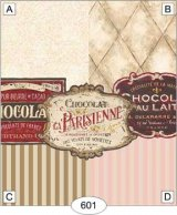 Chocolate Signs, Striped Wallpaper