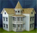 The Sea Side Villa Dollhouse Shell
