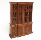 Break Front China Cabinet, 1760, Walnut