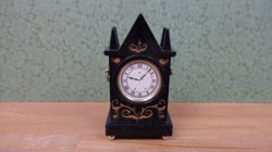 Black Steeple Clock