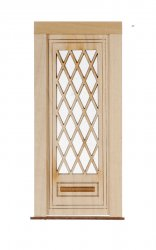 Full Diamond Panel Door