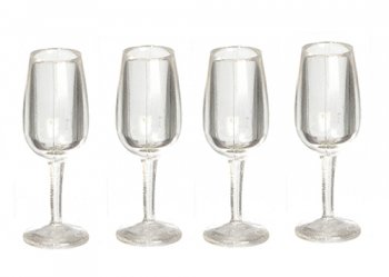 Champagne Glasses, 4pc